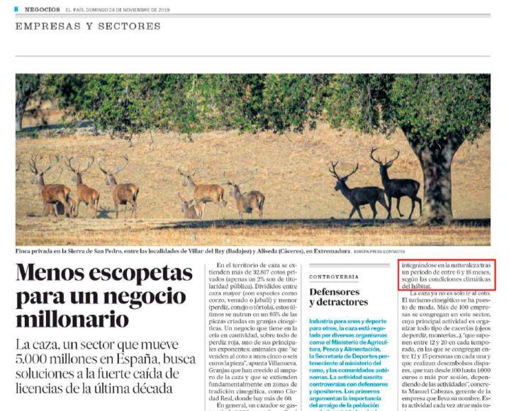 BioAmmo, una pieza capital en el negocio millonario de la caza