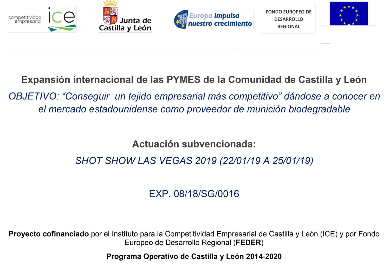BIO AMMO en SHOT-SHOW 2019 (LAS VEGAS, USA)