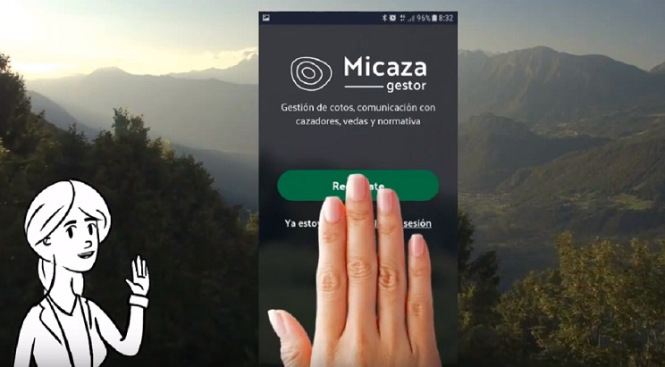 Aplicaciones móviles para cazadores